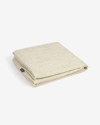 Cover for Blok 2-seater sofa in white linen