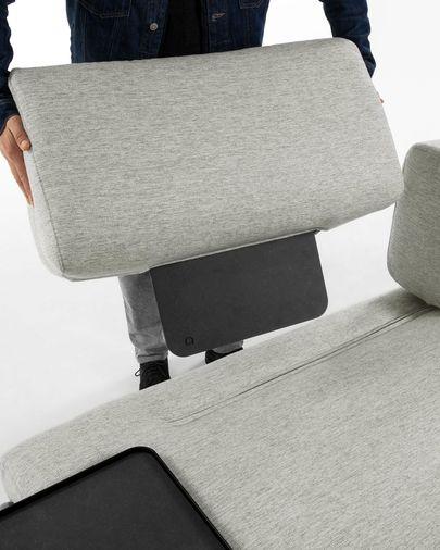 Module 3 seaters Compo beige 232 cm