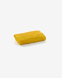 Asciugamano Miekki senape