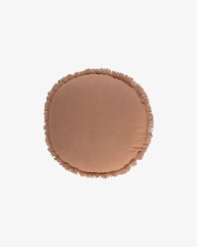 Clarice brown cushion cover Ø 45 cm
