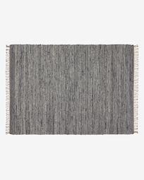 Tapis Paolina 160 x 230 cm gris
