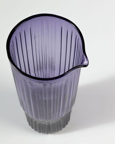 Jarra Rori de cristal lila
