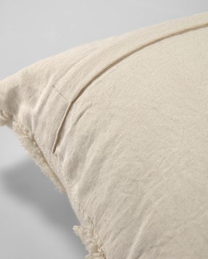 Xayoxhira beige cushion cover 45 x 45 cm