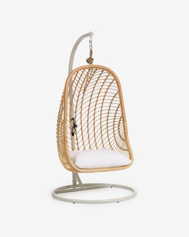 Ekaterina hanging chair with base
