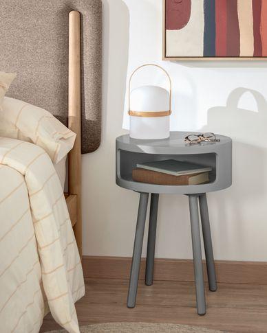 Grey Kurb B side table Ø 40 cm FSC MIX Credit