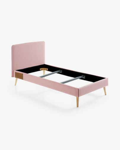 Letto Dyla 90 x 190 rosa