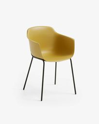 Cadeira Khasumi mostarda