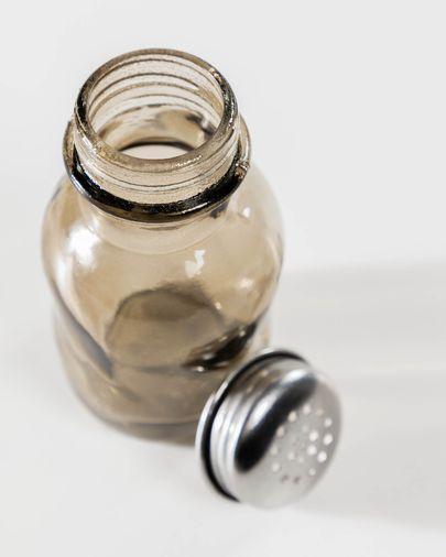 Rohan brown glass salt shaker