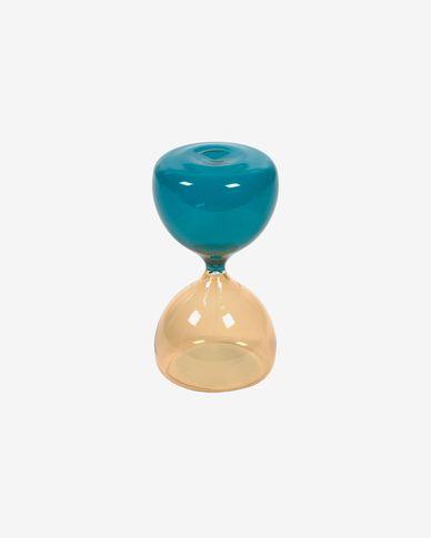 Brandina yellow and blue hourglass 23 cm
