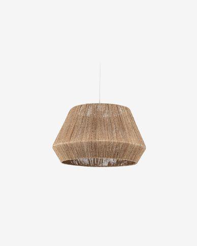 Lampenschirm für die Lampe Crismilda 100% Jute mit natürlichem Finish Ø 50 cm