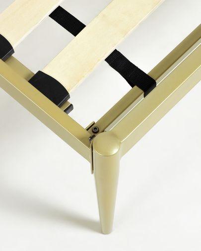 Bed Natacha 90 x 190 cm goud