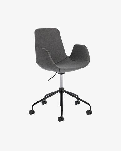 Cadira d'escriptori Yolanda gris fosc