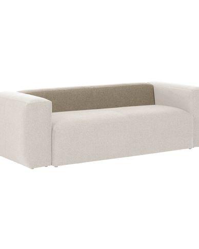 Beige, backrest 150, Blok Sofa