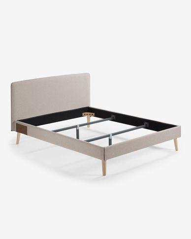 Dyla Bett 150 x 190 cm beige