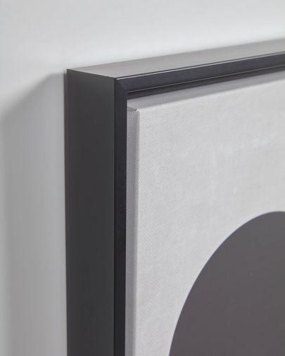 Tableau Myrthe cercle noir 50 x 70 cm