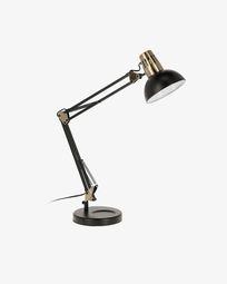 Lámpara de mesa Kristine de acero