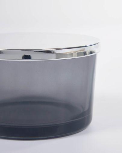 Evael grey glass box