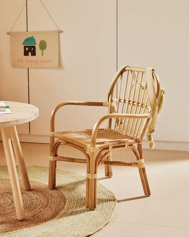 Marzieh rattan children's chair