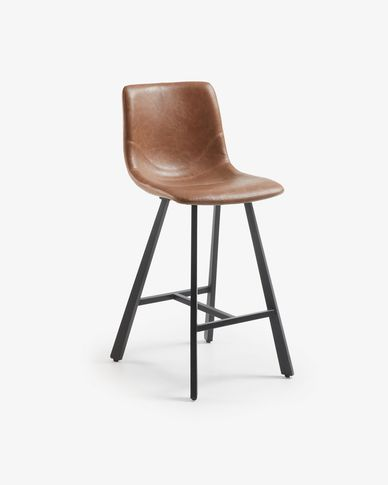 Oxid brown Trap barstool height 61 cm