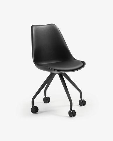 Cadira d'escriptori Ralf negre