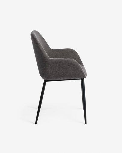 Dark grey Konna chair