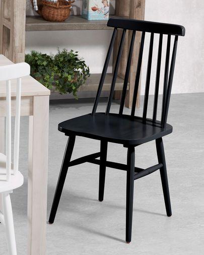 Tressia Stuhl schwarz