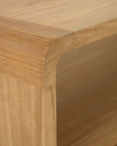 Sabiela solid teak bathroom cabinet 86 x 45 cm