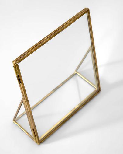 Alliana golden photo frame 14 x 16 cm