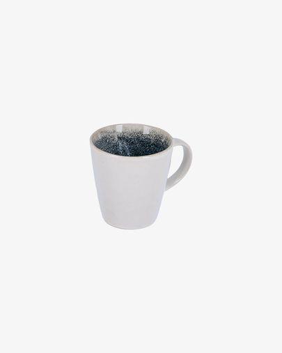 Taza Sachi de cerámica azul claro