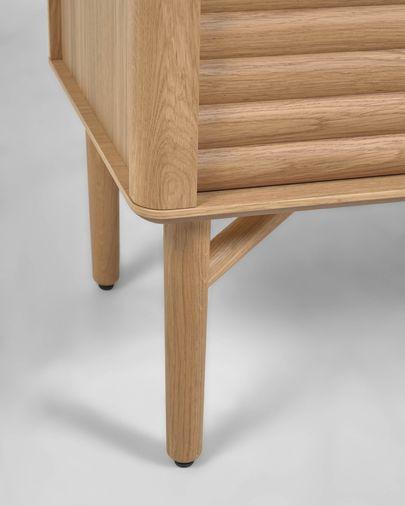 Aparador Lenon 155 x 86 cm fusta massissa i xapa de roure FSC MIX Credit