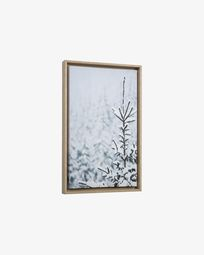 Annelise snowy fir tree picture 50 x 30 cm