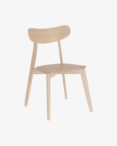 Safina chair with an oak finish