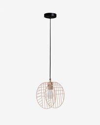 Arietta ceiling lamp in pink