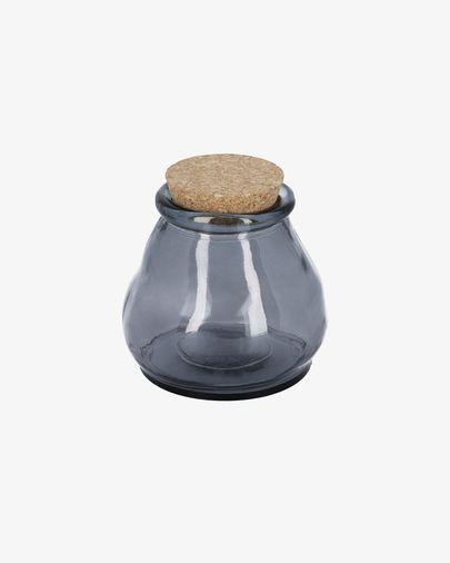 Rohan big blue glass jar