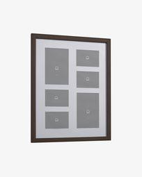 Marco de fotos Luah 39 x 49 cm con acabado oscuro