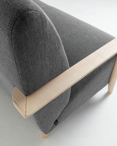 Grey 2 seaters Meghan sofa 145 cm