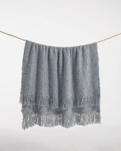Manta Corel gris 125 x 150 cm
