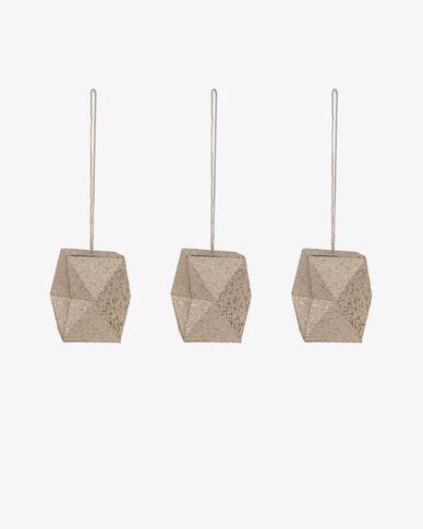 Set Caroll decoratieve geometrische hanger