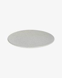 Plato plano Aratani gris claro