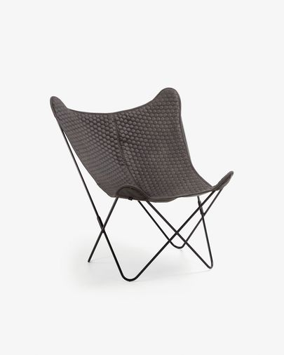 Graphite Fly armchair