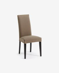 Freda chair Bulova brown and black