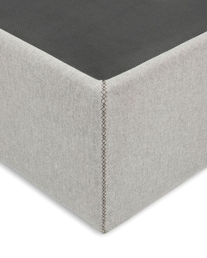 Storage bed base Matters 90 x 190 cm grey