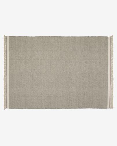 Alfombra Nam 160 x 230 cm gris