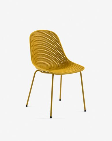 Chaise Quinby jaune