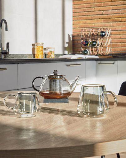 Dolis transparente Teekanne aus Glas