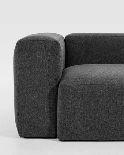 6-zits hoekbank Blok grijs 320 x 320 cm