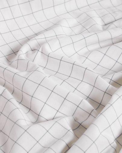 Set Lesly funda nórdica, bajera y funda almohada algodón orgánico GOTS 180x200 cm