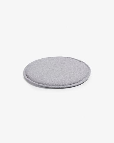 Silke cushion grey light