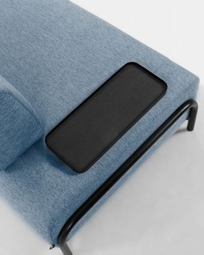 Compo Sofa 3-Sitzer 232 cm, blau