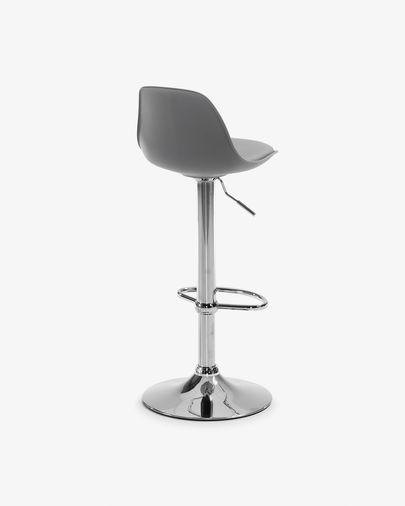Orlando-T kruk grijs hoogte 60-82 cm